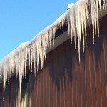 Problème glace glaçons toiture