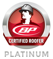BP Platinum certified roofer